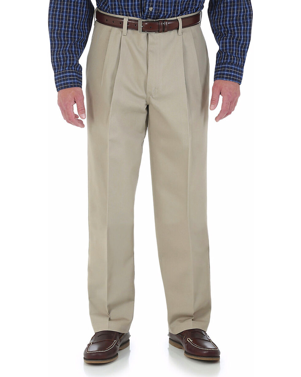 Wrangler Rugged Wear Performance Casual Pants, Khaki, hi-res