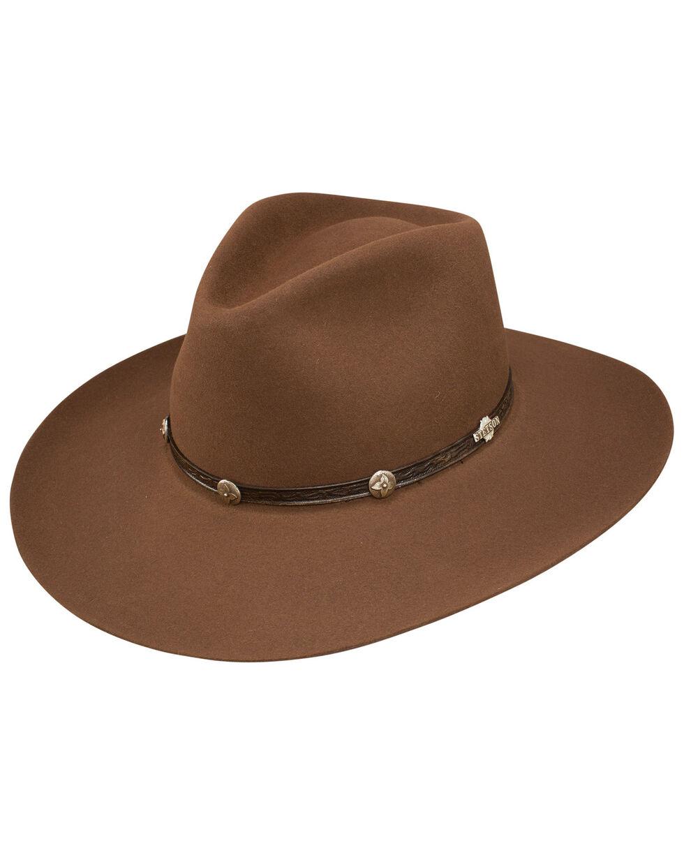 Stetson Ashford 6x Felt Cowboy Hat, Brown, hi-res