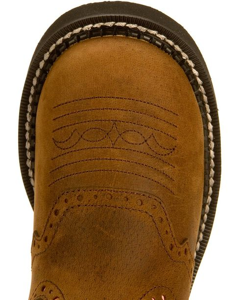 Justin Gypsy Pink Cowgirl Boots - Round Toe, Bay Apache, hi-res