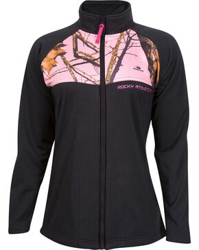 Rocky Women's Full-Zip Fleece Jacket, Black, hi-res