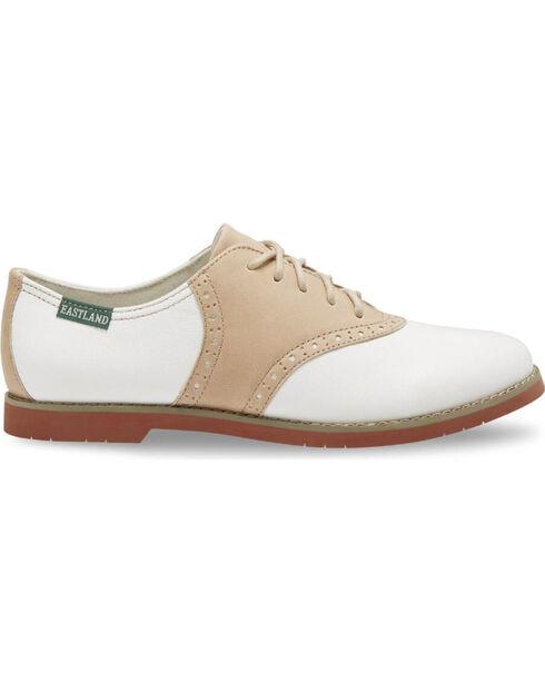 Eastland Women's Sand Sadie Saddle Oxford Shoes , Sand, hi-res