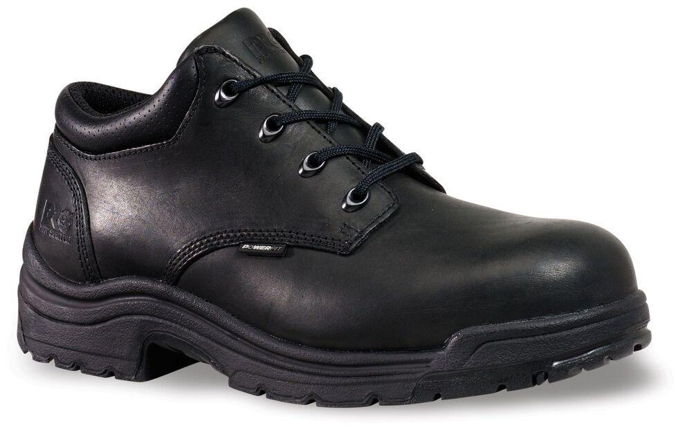 Timberland Pro Men's Titan Safety Toe Shoes, Black, hi-res
