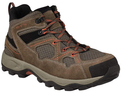 Red Wing Afton Steel Toe Hiker Work Boots , Grey, hi-res