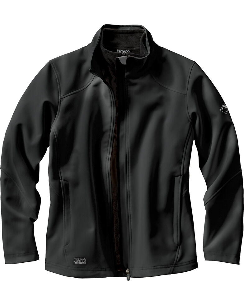 Dri Duck Women's Intensity Waterproof Softshell Jacket, Black, hi-res