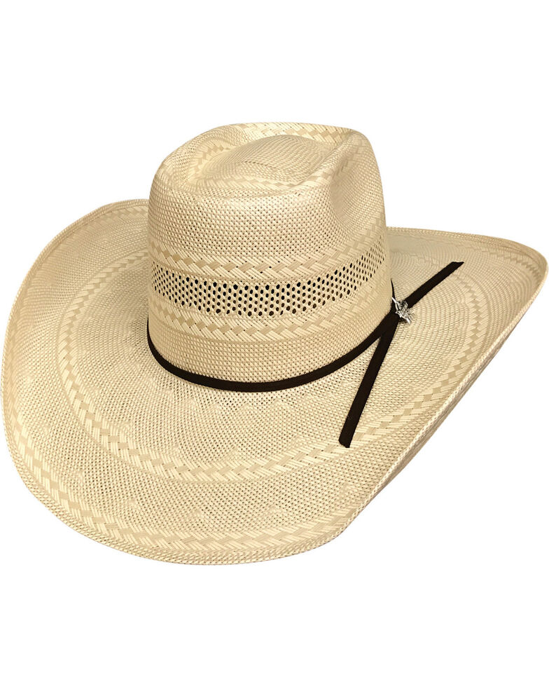 e9efb24d83e2a Bullhide Men s Gleason 100X Straw Cowboy Hat