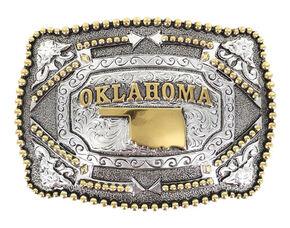 Cody James Oklahoma Belt Buckle, Multi, hi-res