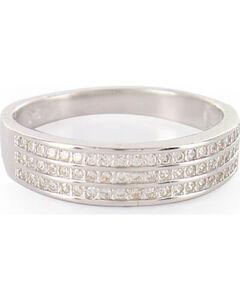 Montana Silversmiths Perfect Rows Band Ring, Silver, hi-res