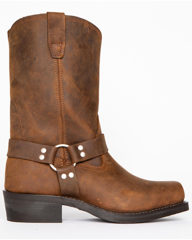 Cody James Men's Brown Harness Boots