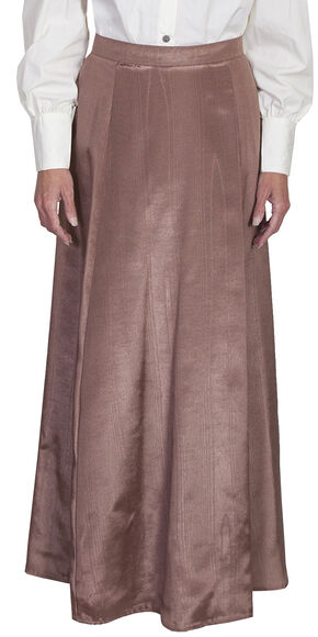 Scully WahMaker Vintage Five Gore Walking Skirt, Chocolate, hi-res