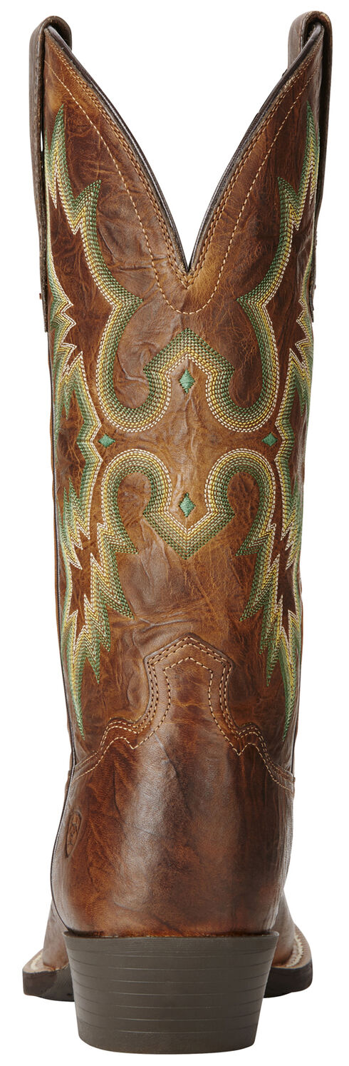 Ariat Men's Brown Dress Tombstone Boots - Snip Toe, , hi-res
