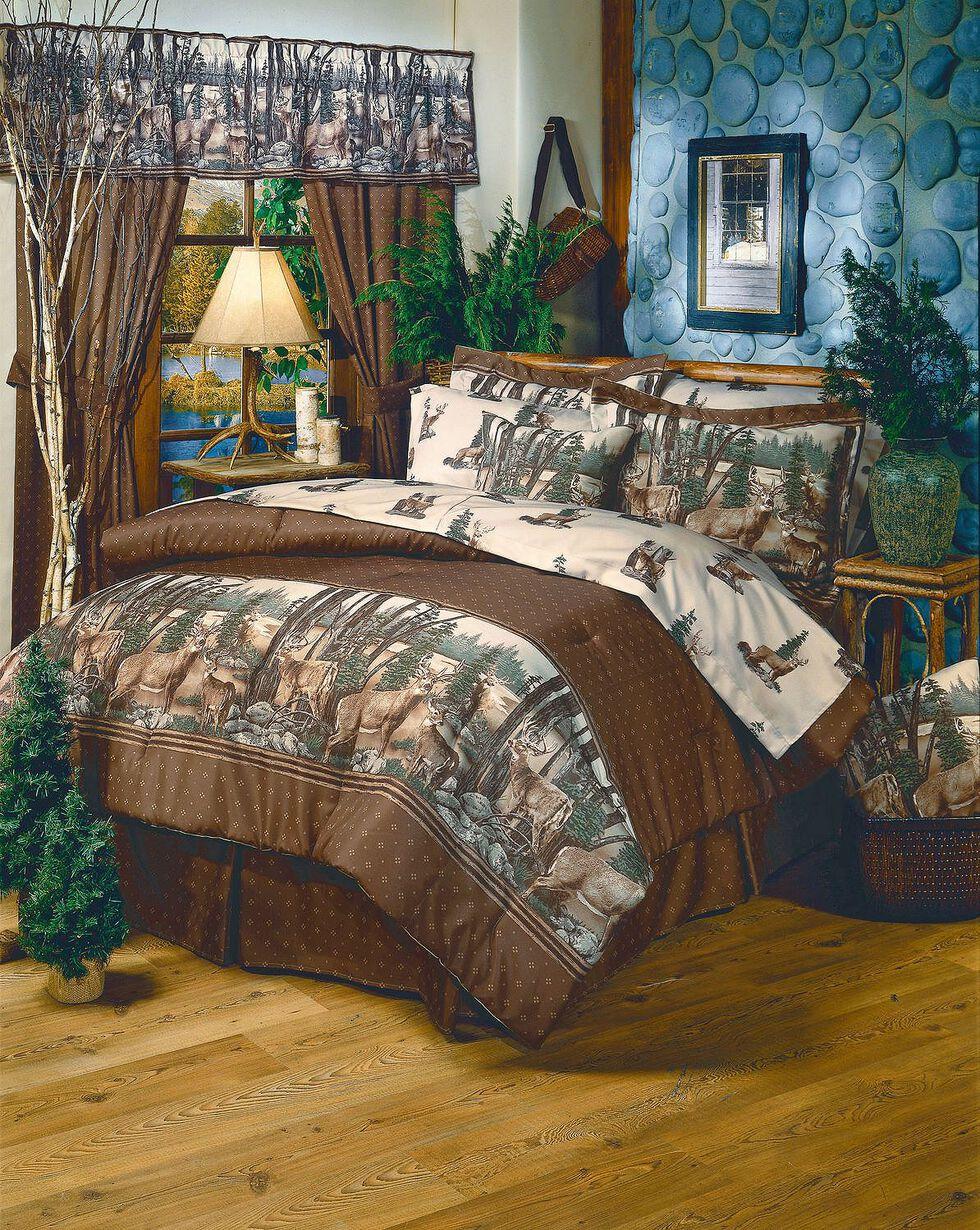 Blue Ridge Trading Whitetail Dreams Full Comforter Set, Brown, hi-res