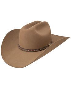 Resistol By George Strait Men's Light Brown 6X Ocho Rios Felt Western Hat , Lt Brown, hi-res