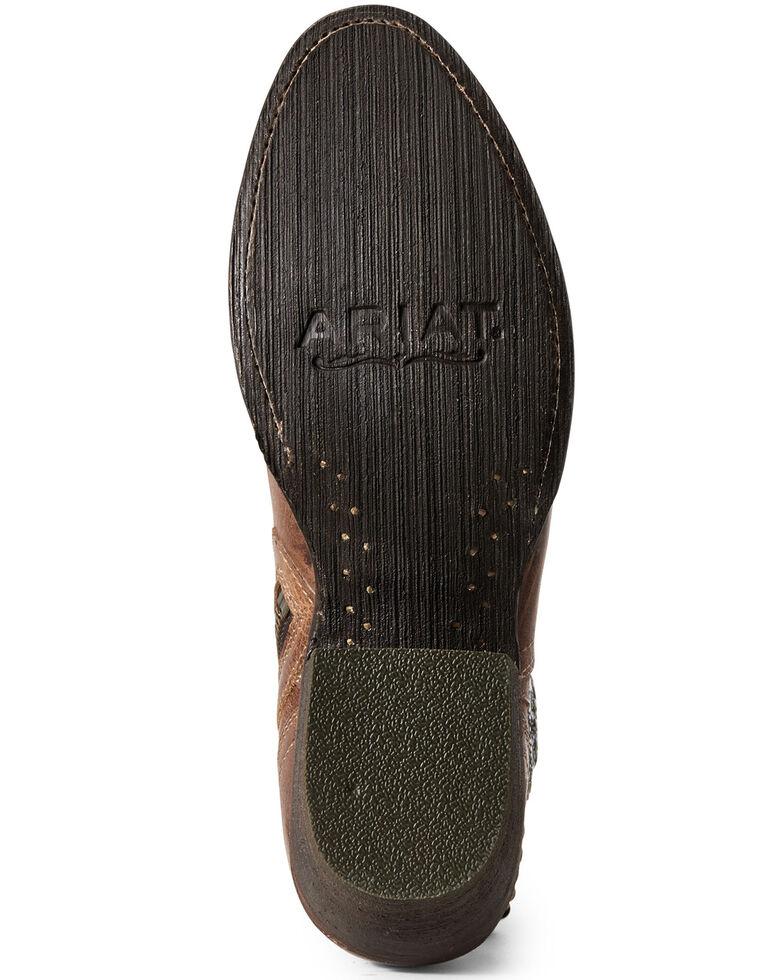 Ariat Women's Circuit Safe Fashion Booties - Round Toe, Brown, hi-res