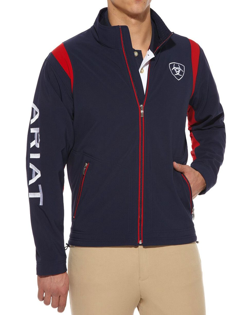 Ariat Team Logo Softshell Jacket, , hi-res