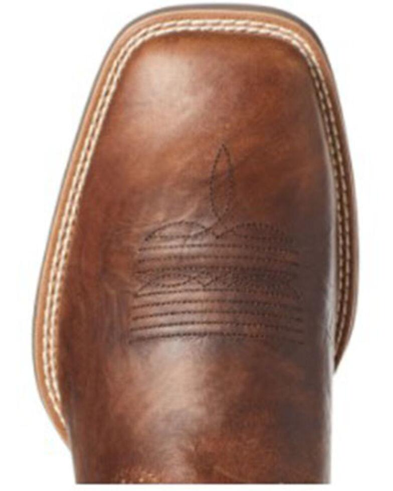 Ariat Men's Sport Cool Venttek Western Boots - Square Toe, Brown, hi-res