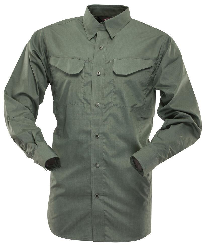 Tru-Spec Men's 24-7 Ultralite Long Sleeve Field Shirt, Olive, hi-res