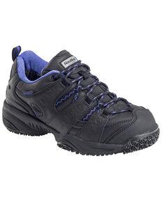 Nautilus Women's Waterproof Athletic Work Shoes - Composite Toe, Black, hi-res