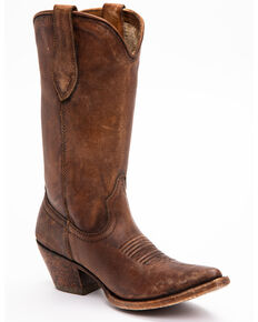 Ariat Women's Brown Josefina Boots - Pointed Toe, Brown, hi-res