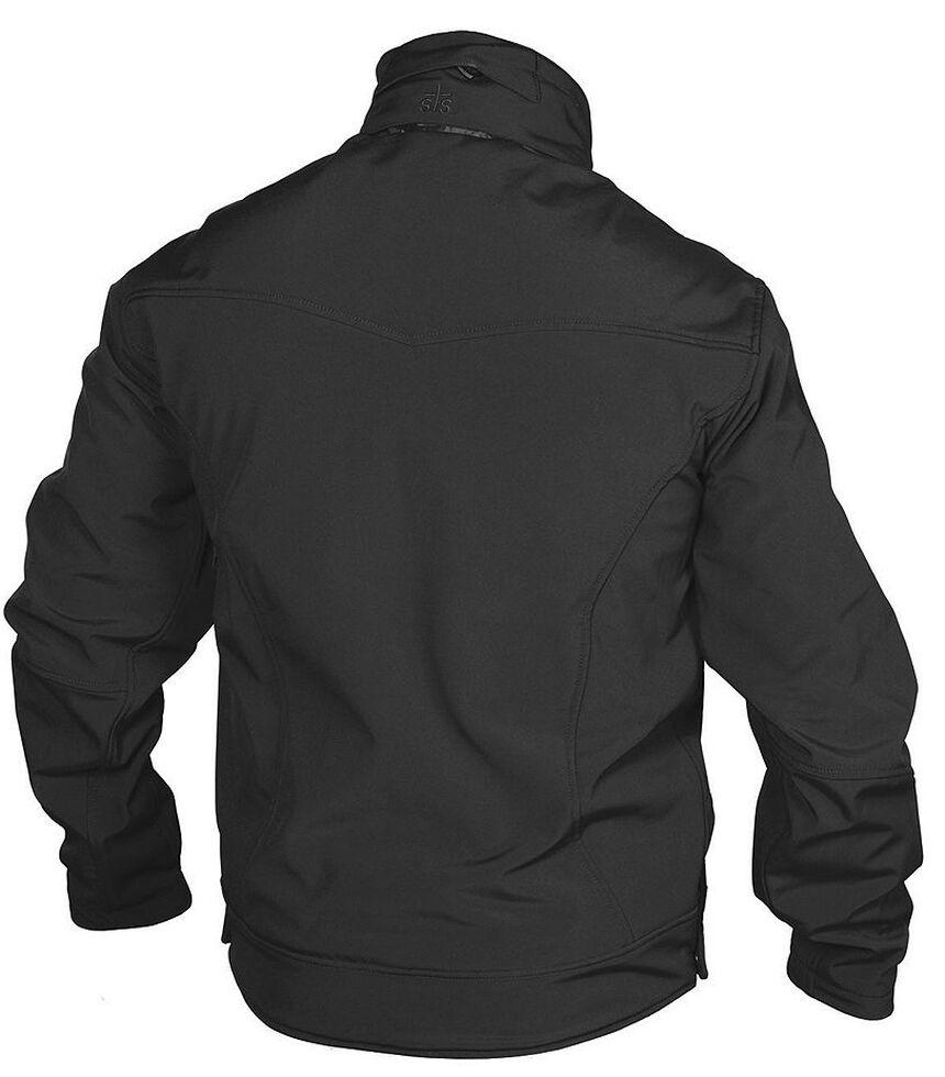 STS Ranchwear Men's Young Gun Black Jacket - Big & Tall, Black, hi-res
