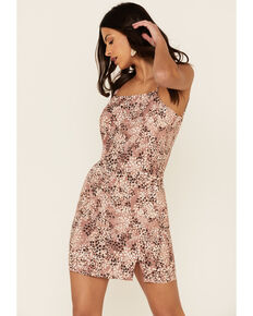Sadie & Sage Women's Steppin' Out Cami Dress, Pink, hi-res