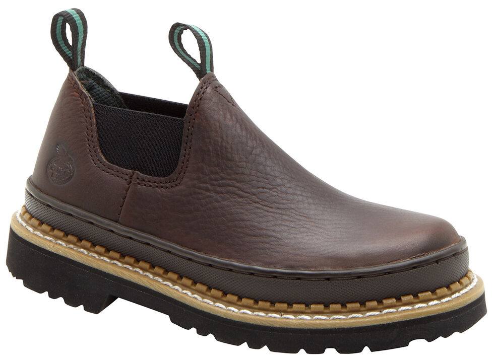 Georgia Youth Little Giant Romeo Casual Shoes, Brown, hi-res