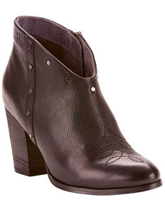 Ariat Women's Unbridled Kaelyn Western Fashion Booties - Medium Toe, Black, hi-res