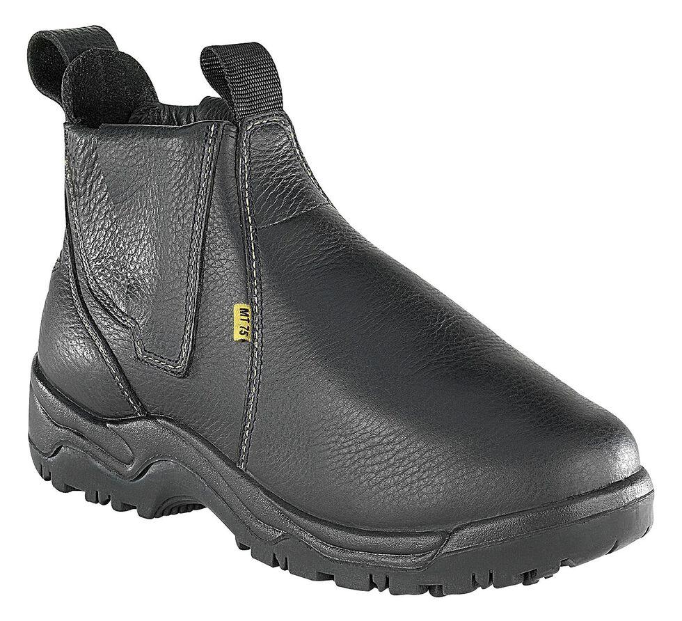 """Florsheim Men's Hercules 6"""" Work Boots - Steel Toe, Black, hi-res"""