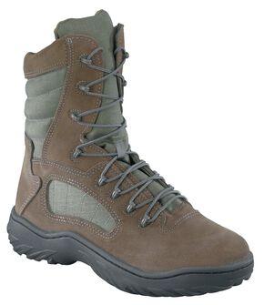"Reebok Men's 8"" Lace-Up Tactical Work Boots, Sage, hi-res"