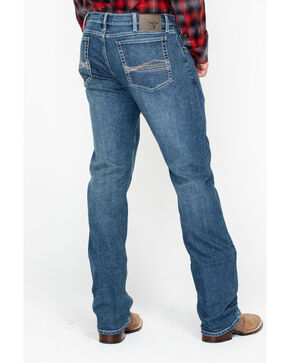 Wrangler 20X Men's Lindale No.44 Advanced Comfort Long Slim Straight Jeans , Blue, hi-res