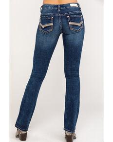 Rock & Roll Denim Women's Extra Stretch Medium Wash Rival Bootcut Jeans, Blue, hi-res