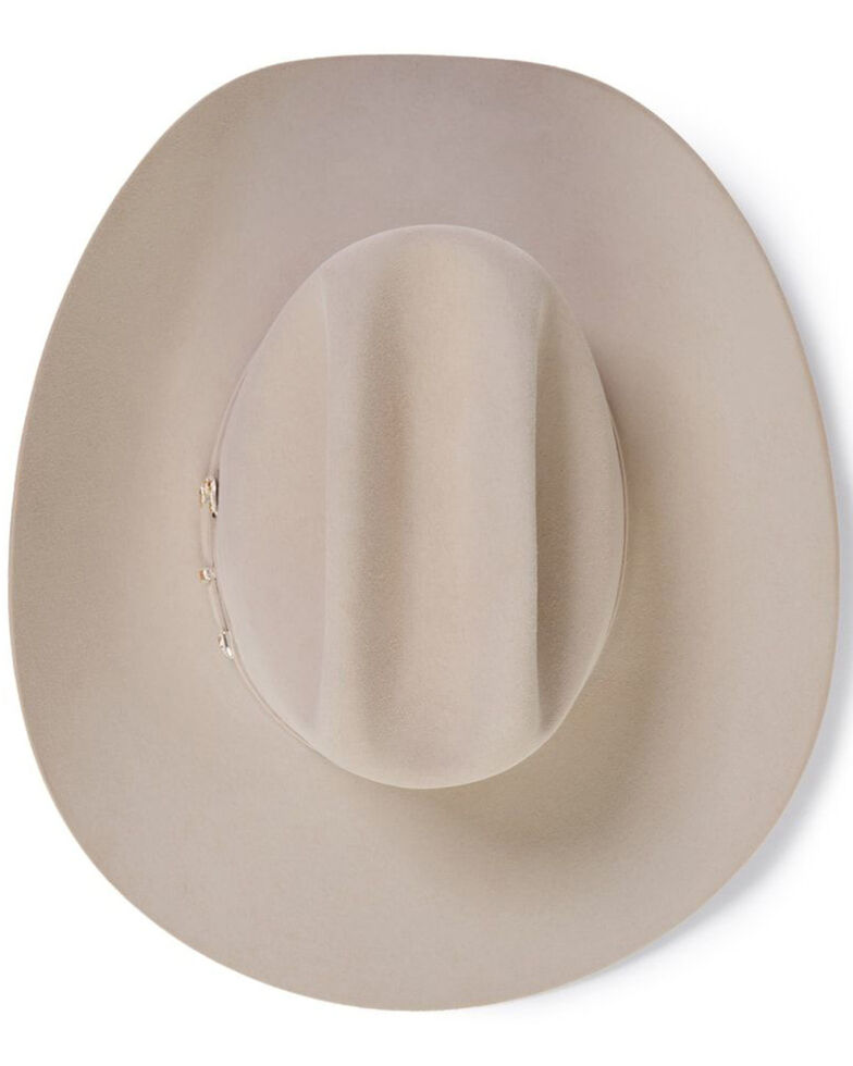 Stetson Men's El Patron Silverbelly Western Hat, Silver Belly, hi-res