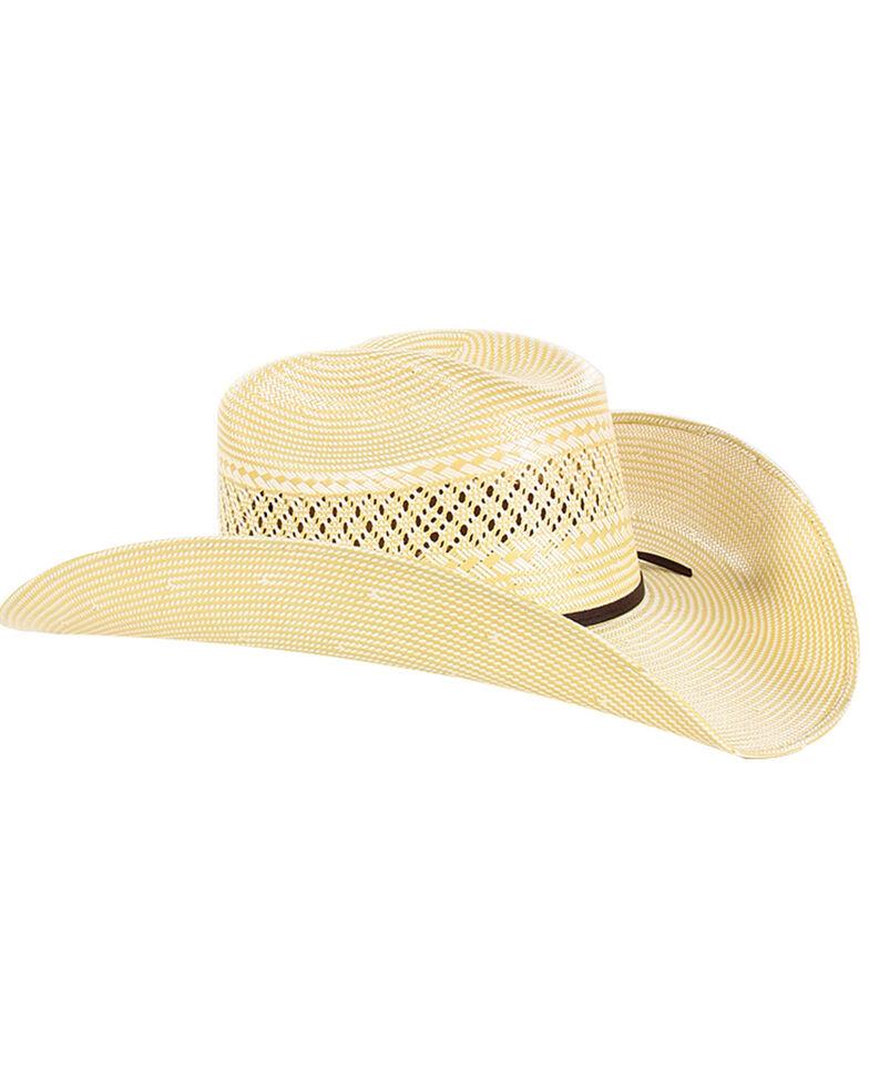 Cody James Men's 50X Straw Cowboy Hat, Natural, hi-res