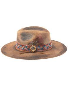 Bullhide Women's Distressed Pecan Stuck With You Western Straw Hat , Pecan, hi-res
