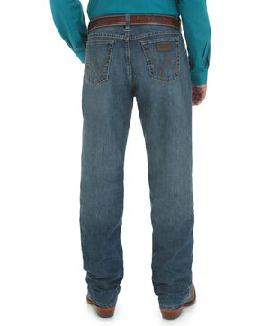 Wrangler Men's 20X Cool Vantage 01 Competition Relaxed Fit Jeans  - Tall, Denim, hi-res