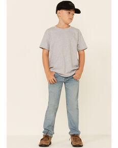 Levi's Boys' 511 Dodger Faded Light Wash Slim Straight Jeans, Light Blue, hi-res