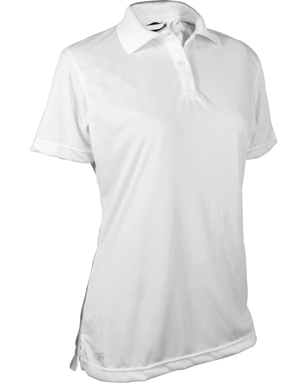 Tru-Spec Women's White 24-7 Performance Polo , White, hi-res