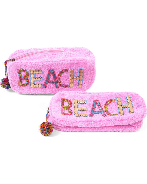 ále by Alessandra Women's Beach Baby Clutch, Pink, hi-res