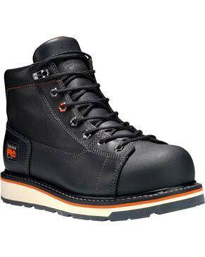 """Timberland Men's 6"""" Gridworks Boots - Alloy Toe , Black, hi-res"""