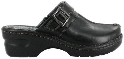 Eastland Women's Black Mae Clogs, Black, hi-res