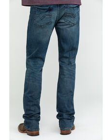 Moonshine Spirit Men's Muddler Slim Bootcut Jeans , Indigo, hi-res