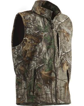 Berne Weekender Realtree Camo Softshell Vest, Camouflage, hi-res