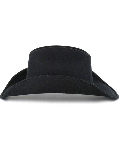 Cody James Men's Felt Cowboy Hat , Black, hi-res