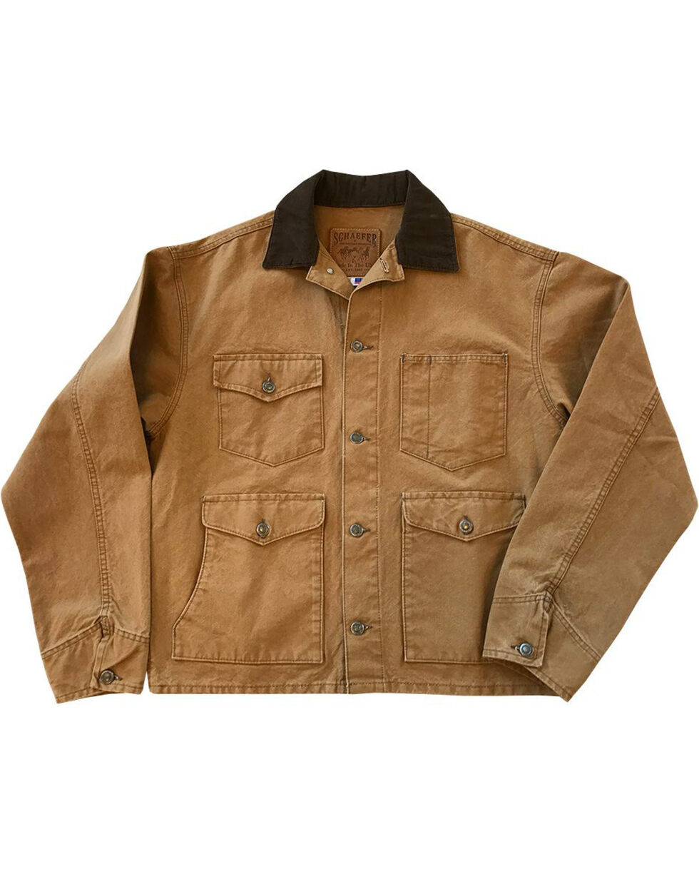 Schaefer Outfitter Men's Saddle Vintage Brush Jacket - 3XL, Brown, hi-res
