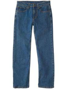 Carhartt Boys' (4-7) Medium Wash Stretch Regular Fit Jeans , Indigo, hi-res