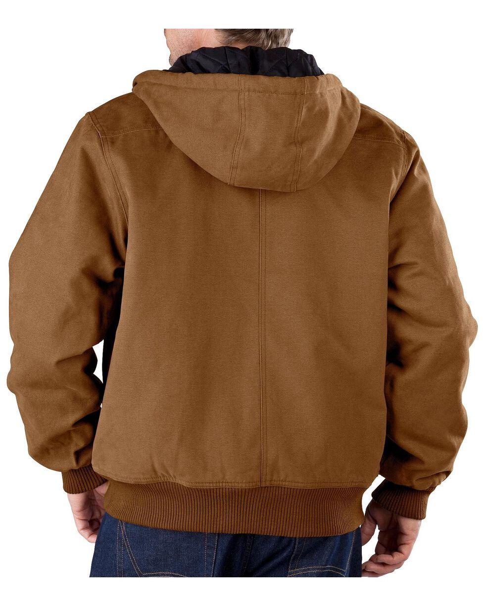 Dickies Sanded Duck Hooded Jacket, Brown Duck, hi-res