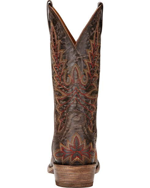 Ariat Brooklyn Cowgirl Boots - Snip Toe , Coffee, hi-res