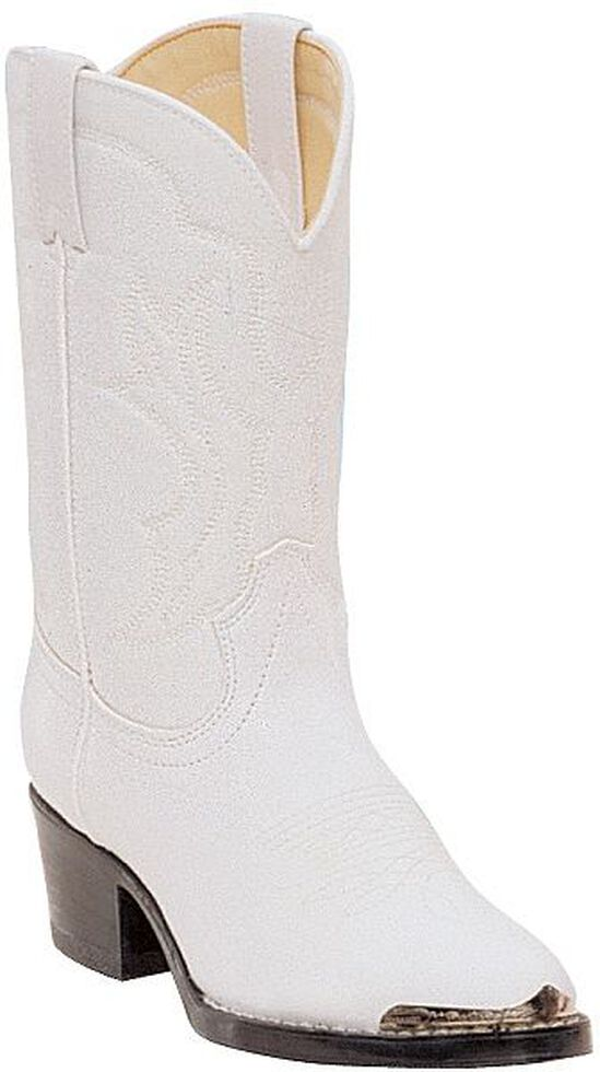 dae3bec89fc Durango Girls  White Cowgirl Boots - Round Toe