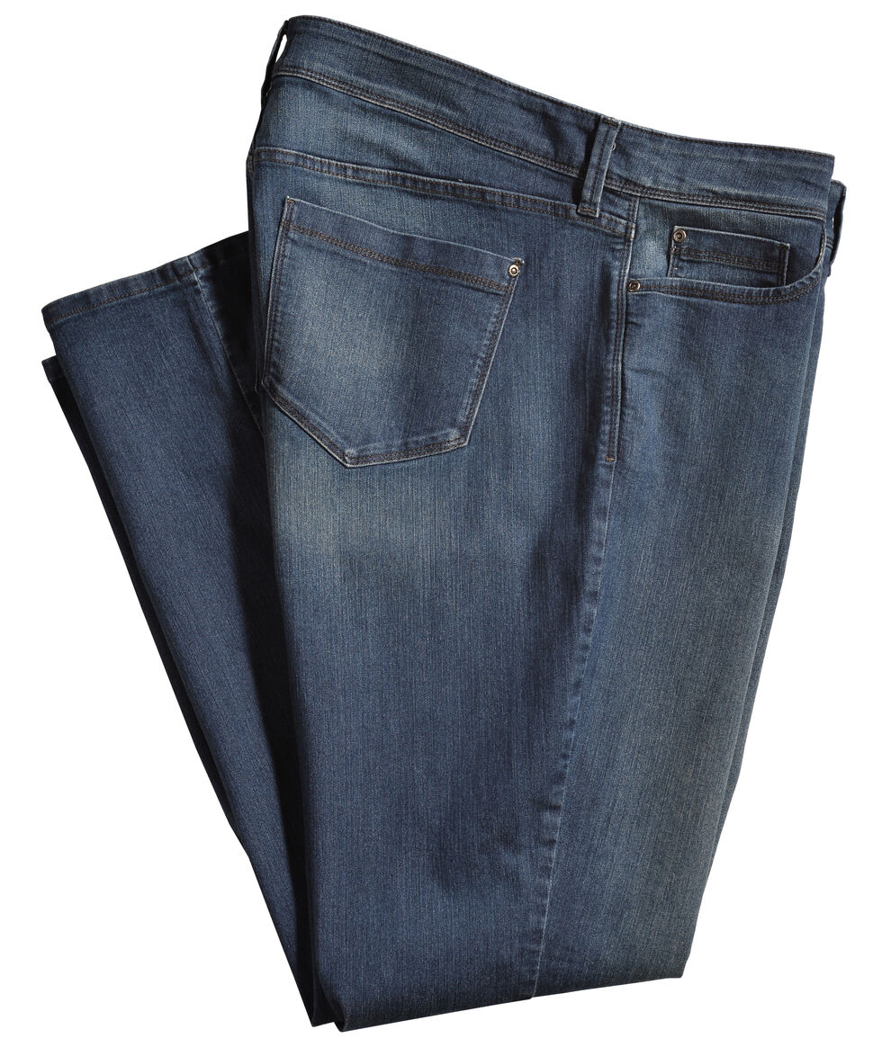NYDJ Women's Barbara Boot Cut Jeans - Plus Size , Indigo, hi-res