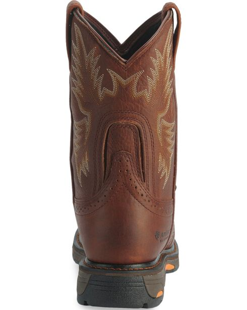 Ariat H2O Workhog Western Work Boots - Composite Toe, Copper, hi-res