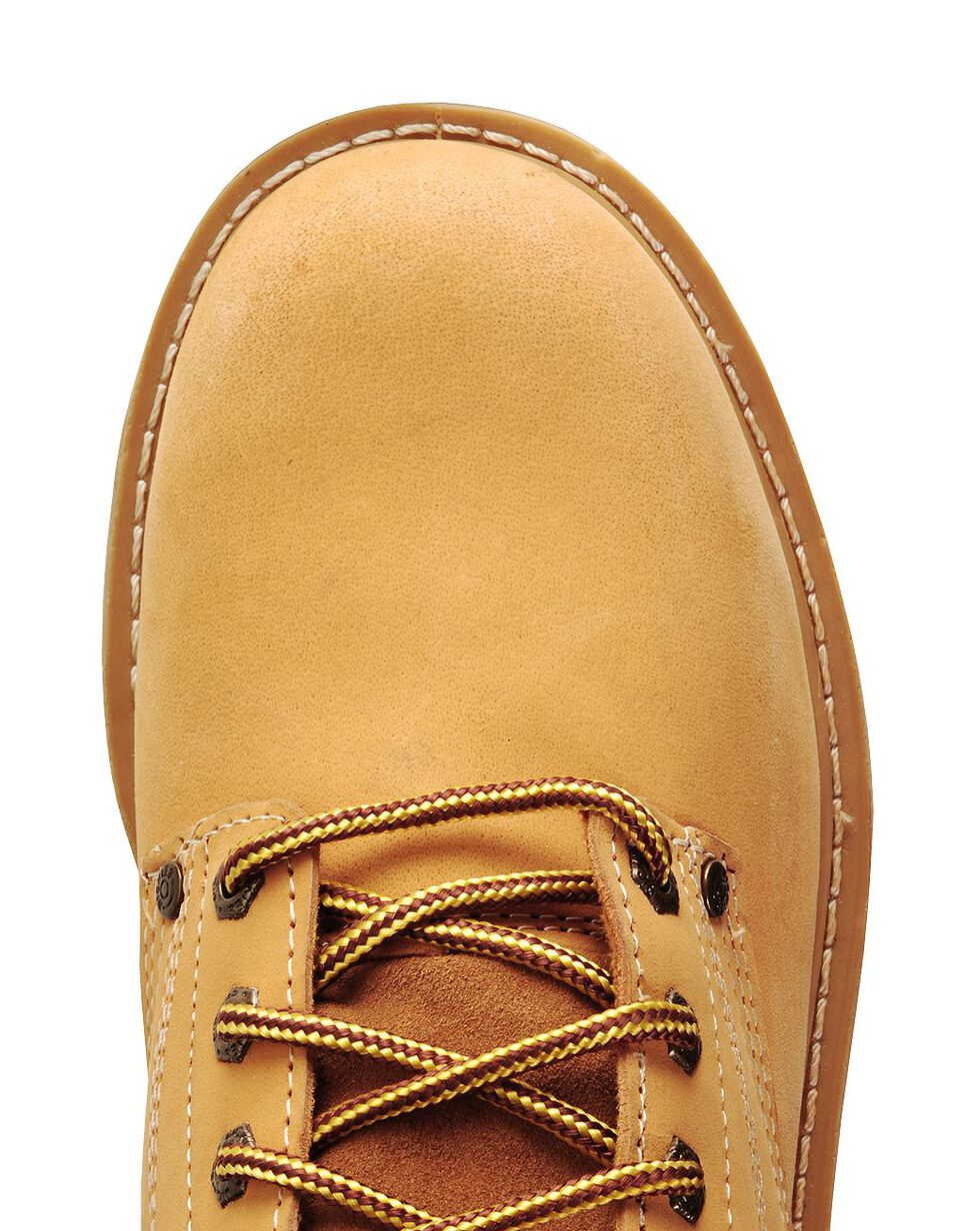"""Dickies Men's Raider 6"""" Lace-Up Work Boots - Steel Toe, Wheat, hi-res"""